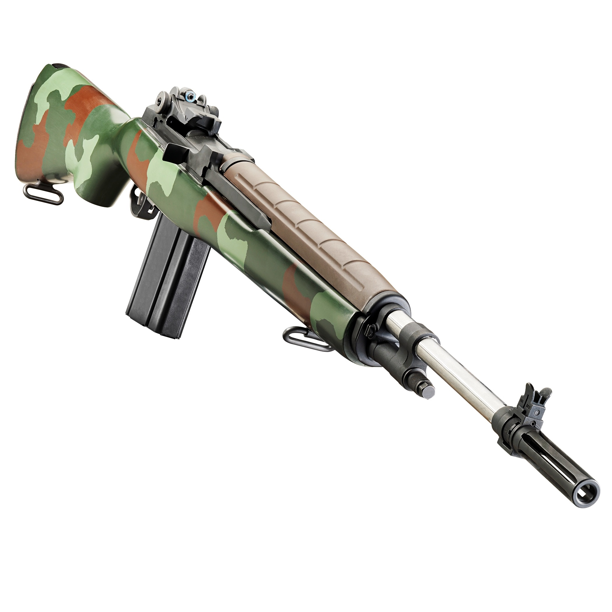 Springfield Armory M1A Super Match Rifle McMillan U S  Marine Corps