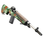 "Springfield Armory M1A Super Match Rifle McMillan U.S. Marine Corps Green Camo Stock with Douglas Heavy Weight Super Match 22"" Stainless Steel Barrel Chambered in .308 WIN 10 Round Magazine"