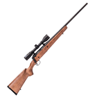 Savage Arms AXIS II XP Package Bolt Action Rifle 30-06 Springfield 22 Inch Carbon Steel Button Rifled Barrel AccuTrigger Hardwood Satin Finished Stock Bushnell 3-9x40mm 4 Round Detachable Box Magazine