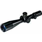 Schmidt & Bender Optics 5-25x56mm PM II LP First Focal Plane P4FL Illuminated Reticle 34mm Tube Side Parallax CCW 0.1 MRAD Double Turn Elevation And Single Turn Windage Adjustment Matte Black Finish