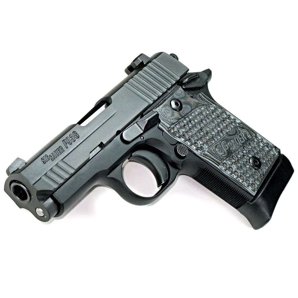 sig sauer p938 compact 938 3 0 inch barrel chambered in 9mm luger