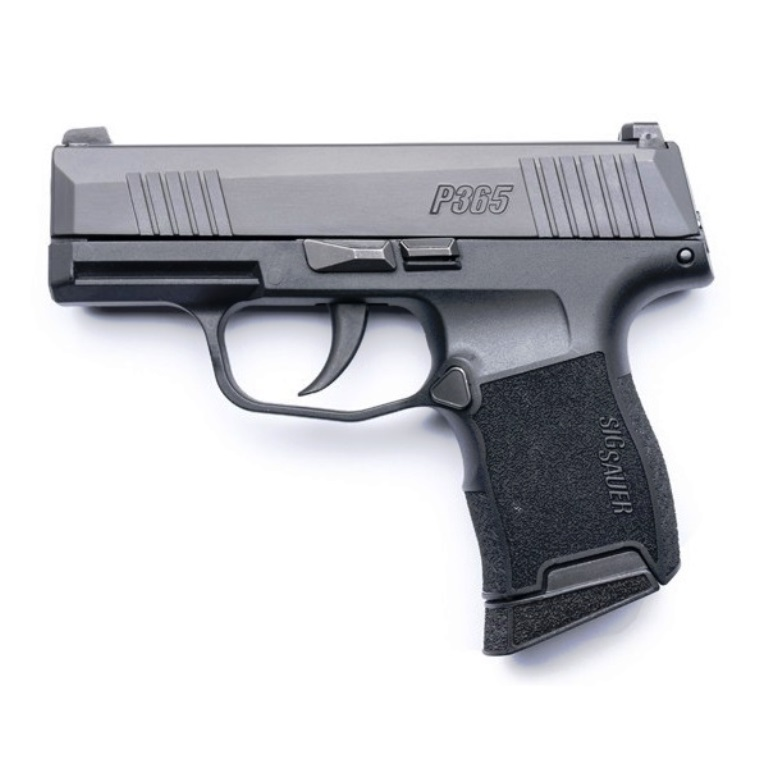 Sig Sauer P365 Micro Compact Carry Pistol 9mm Luger 3 1 Inch Barrel Striker  Fired Nitron Stainless Steel Slide Xray3 Day Night Sights Fully Textured