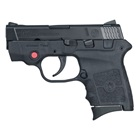 Smith & Wesson M&P Bodyguard 380 .380 ACP Black Steel Slide 2.75 Inch Stainless Steel Barrel Low Profile Sights No Manual Thumb Safety Crimson Trace Laser Black Textured Polymer Frame 6 Round Magazine