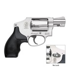 Smith & Wesson 642 Revolver DA Only with Small Internal Hammer chambered in .38 S&W Special +P Aluminum Alloy Frame Stainless Steel Cylinder with a Matte Silver Finish Synthetic Grip 5 Rounds