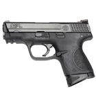 "Smith & Wesson M&P40 Compact .40 S&W Pistol 3.5"" Barrel Black Frame and Black Melonite Finish Slide White Dot Front and Rear Sights with 10 Round Magazine"