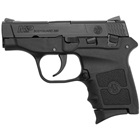 Smith & Wesson M&P Bodyguard 380 .380 ACP Black Steel Slide 2.75 Inch Stainless Steel Barrel Low Profile Sights Manual Thumb Safety Black Polymer Frame Compact Design Textured Grip 6 Round Magazine