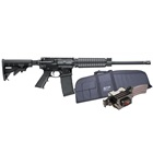 Smith & Wesson M&P15 Sport II OR Optics Ready 5.56mm NATO 16 Inch Barrel 1 in 9 Twist Rate Flat Top QD Rail Gas Block Forward Assist Dust Cover 6 Position Collapsible Stock PMAG 30 Round Magazine