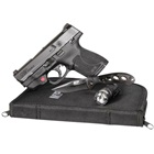 Smith & Wesson M&P9 Shield M2.0 9mm Luger 3.1 Inch Barrel Black Armornite Slide Textured Grip and Frame White Dot Front and Rear Sights Crimson Trace Red Laser EDC Kit 7 & 8 RD Magazines