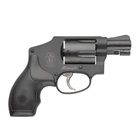 Smith & Wesson 442 Revolver DA Only with Small Internal Hammer chambered in .38 S&W Special +P Aluminum Alloy Frame Stainless Steel Cylinder with a Matte Black Finish Synthetic Grip 5 Rounds