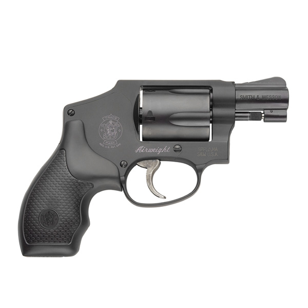 Smith & Wesson 442 Revolver DA Only with Small Internal Hammer chambered in   38 S&W Special +P Aluminum Alloy Frame Stainless Steel Cylinder with a