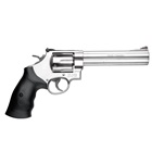 Smith & Wesson Model 629 Classic .44 Magnum Stainless Steel Frame and 6 Round Cylinder Red Front Ramp Sight and Fully Adjustable White Lined Rear Sight Single / Double Action Synthetic Grip
