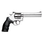 Smith & Wesson Model 686 Plus .357 Magnum Stainless Steel 6 Inch Barrel and Frame Red Ramp Front and Fully Adjustable White Lined Rear Sights Single / Double Action Synthetic Grip 7 Round Cylinder