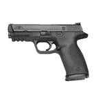 "Smith & Wesson M&P40 Full Size .40 S&W Pistol 4.25"" Barrel Black Frame and Black Melonite Finish Slide White Dot Front and Rear Sights with 15 Round Magazine"