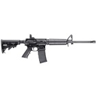 Smith & Wesson M&P15 Sport 5.56mm NATO 16 Inch Barrel A2 Front Sight Post with Magpul MBUS Rear Sight 6 Position Collapsible Stock Black Melonite Finish PMAG 30 Round Magazine