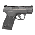 Smith & Wesson M&P9 Shield Plus No Thumb Safety Micro-Compact Pistol 9mm Luger 3.1 Inch Barrel White Dot Front And Rear Sights Stainless Steel Armornite Slide Flat Trigger Polymer Grip 13 RD Magazine