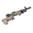 "Springfield Armory M1A Scout Squad 18"" Parkerized Carbon Steel Barrel Chambered 7.62mm NATO National Match Front and Military Aperture Rear Sights FDE Flat Dark Earth Stock 10 Round Magazine"