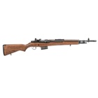 "Springfield Armory M1A Scout Squad 18"" Parkerized Carbon Steel Barrel Chambered 7.62mm NATO National Match Front and Military Aperture Rear Sights New Walnut Stock 10 Round Magazine"