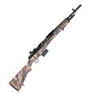 "Springfield Armory M1A Scout Squad 18"" Parkerized Carbon Steel Barrel Chambered 7.62mm NATO National Match Front and Military Aperture Rear Sights Mossy Oak Stock 10 Round Magazine"