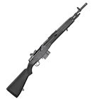 "Springfield Armory M1A Scout Squad 18"" Parkerized Carbon Steel Barrel Chambered 7.62mm NATO National Match Front and Military Aperture Rear Sights Black Synthetic Stock 10 Round Magazine"