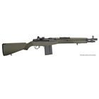 "Springfield Armory M1A Scout 16 16.25"" Parkerized Carbon Steel Barrel Chambered 7.62mm NATO Tritium XS Post Front and Enlarged Military Aperture Rear Sights OD Green Composite Stock 10 Round Magazine"