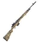 "Springfield Armory M1A Standard Chambered in .308 WIN 22 Inch 1 In 11"" Righthand 6 Groove Carbon Steel Barrel 2 Stage Trigger Hilander Camo Composite Stock Rubber Butt Pad 10 Round Magazine"