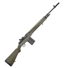 "Springfield Armory M1A Loaded Chambered in .308 WIN 22"" 1 In 11"" 6 Groove RH Twist Rate National Match Grade Carbon Steel Barrel 2 Stage Match Tuned Trigger OD Green Composite Stock 10 Round Magazine"