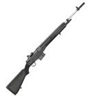 "Springfield Armory M1A Loaded Chambered in .308 WIN 22"" 1 In 11"" 6 Groove RH Twist Rate National Match Grade Stainless Steel Barrel 2 Stage Match Tuned Trigger Black Composite Stock 10 Round Magazine"