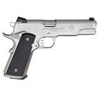 "Springfield Armory TRP Tactical Response Pistol 1911 5"" Stainless Steel Match Grade Barrel Chambered .45 ACP Forged Stainless Steel Slide and Frame with Satin Finish Black G-10 Grips 7 Round Magazine"