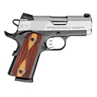 "Springfield Armory Enhanced Micro Pistol EMP 1911 3"" Match Grade Bull Barrel Chambered in .40 S&W Bitone Forged Slide and Frame Low Profile Combat 3 Dot Tritium Night Sights 8 Round Magazine"