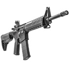 Springfield Armory SAINT AR-15 Rifle 5.56mm NATO 16 Inch Chrome Moly Melonite Treated 1 In 8 Twist Barrel Mid-Length Gas System Bravo Company Black KeyMod Rail And 6 Position Stock 30 Round Magazine