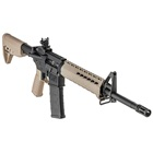 Springfield Armory SAINT AR-15 Rifle 5.56mm NATO 16 Inch Chrome Moly Melonite Treated 1 In 8 Twist Barrel Mid-Length Gas System Bravo Company FDE KeyMod Rail And 6 Position Stock 30 Round Magazine