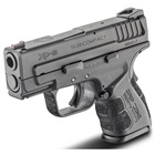 "Springfield Armory XD MOD.2 Sub-Compact Black 3.3"" Steel Hammer Forged Barrel Chambered in 9mm Luger Fiber Optic Front and White Dot Low Profile Rear Sights 13 Round and 16 Round Extended Magazines"