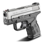 "Springfield Armory XD MOD.2 Sub-Compact Bi-Tone 3.3"" Steel Hammer Forged Barrel Chambered in 9mm Luger Fiber Optic Front and White Dot Low Profile Rear Sights 13 Round and 16 Round Extended Magazines"