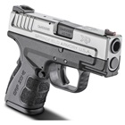 "Springfield Armory XD MOD.2 Sub-Compact Bi-Tone 3.3"" Steel Hammer Forged Barrel Chambered in .40 S&W Fiber Optic Front and White Dot Low Profile Rear Sights 9 Round and 12 Round Extended Magazines"