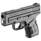 "Springfield Armory XD MOD.2 Sub-Compact Black 3.3"" Steel Hammer Forged Barrel Chambered in .45 ACP Fiber Optic Front and White Dot Low Profile Rear Sights 9 Round and 13 Round Extended Magazines"