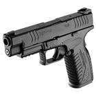 "Springfield Armory XDM 4.5"" Steel Hammer Forged Match Grade Barrel Chambered in .40 S&W Match Grade Trigger Steel Dovetail White 3 Dot Front and Rear Sights 16 Round Magazine"