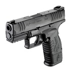 "Springfield Armory XDM Compact 3.8"" Steel Hammer Forged Match Grade Barrel Chambered in .40 S&W Match Grade Trigger Steel Dovetail White 3 Dot Front and Rear Sights 11 and 16 Round Magazines"