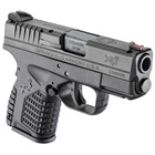 "Springfield Armory XDS Essentials Package 3.3"" Steel Melonite Hammer Forged Barrel Chambered in .40 S&W Fiber Optic Front and White Dot Dovetail Rear Sights 6 Round and 7 Round Extended Magazines"
