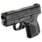 "Springfield Armory XDS Essentials Package 3.3"" Steel Melonite Hammer Forged Barrel Chambered in .45 ACP Fiber Optic Front and White Dot Dovetail Rear Sights 5 Round and 6 Round Extended Magazines"