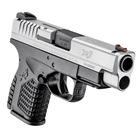 "Springfield Armory XDS Essentials Bi-Tone 4.0"" Steel Melonite Hammer Forged Barrel Chambered in .45 ACP Fiber Optic Front and White Dot Dovetail Rear Sights 5 Round and 6 Round Extended Magazines"