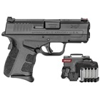 Springfield Armory XDS Mod.2 9mm Luger 3.3 Inch Barrel Fiber Optic Front Sight White Dot Rear Sight Enhanced Textured Grip Conceal Carry Pistol Exclusive Gear Up Package With 5 Magazines And Range Bag