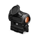Vortex Optics Sparc AR Red Dot Sight 2 MOA Reticle Fully Multi-Coated Lens Nitrogen Gas Purging Fogproof Waterproof Shockproof Lightweight Compact Multi-Height Chassis Hard Anodized Matte Black Finish