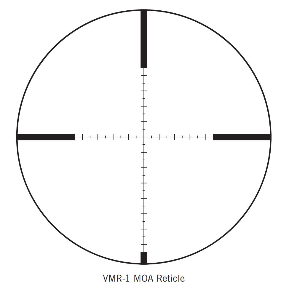Vortex Optics Diamondback Tactical 3 9x40mm Vmr 1 Reticle