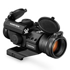 Vortex Optics Strikefire II Red Green Dot Sight 4 MOA Reticle Fully Multi-Coated Glass Nitrogen Gas Purging Fogproof Waterproof Shockproof Lightweight Compact Chassis Hard Anodized Matte Black Finish