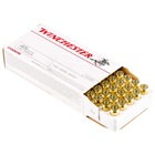 Winchester Ammunition USA Target .45 ACP 185 Grain Full Metal Jacket Flat Nose Bullet 910 FPS At The Muzzle Brass Reloadable Boxer Primed Cartridge Case Box Of 50 Rounds