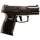 "Taurus PT-111 Millennium G2 3.2"" Barrel Chambered 9mm Luger Blued Steel Slide White Dot Front and Fully Adjustable Rear Sights Manual Thumb Safety Black Synthetic Frame 12 Round Extended Magazine"